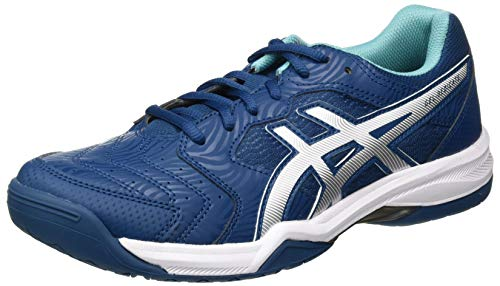 ASICS Herren Gel-Dedicate 6 Tennis Shoe, Mako Blue/White, 47 EU