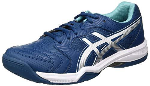 ASICS Mens Gel-Dedicate 6 Tennis Shoe, Mako Blue/White, 47 EU
