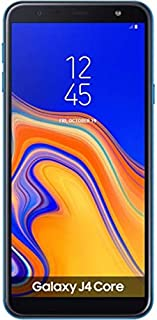 Samsung Galaxy J4 Core 4G LTE 16GB J410F/DS 6 Inch (LTE At&t Africa Asia Cuba Digitel) 8MP Quad Core 1GB RAM International Version NO CDMA - No Warranty (Blue)