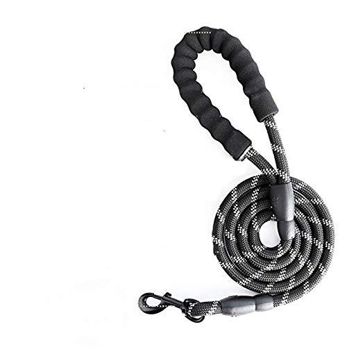 Verstellbare Leine Halsband reflektierendes Haustier-Trainingszubehör Nylon großes Hundegeschirr keine Spannung Medium und Large Hundegeschirr Weste XL (Brust 60-118 cm) 150 cm