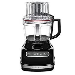in budget affordable KitchenAid KFP1133OB11 Cup Stand Mixer, Accurate Disc-Black Onyx