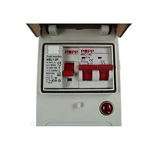 Maypole MP3765 Mobile Mains Power Unit, 230 V, 10 A, 230V 10A