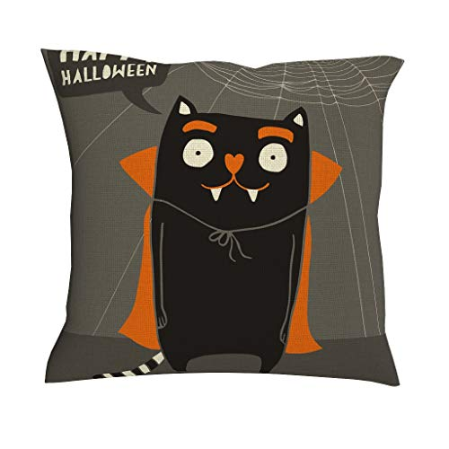 Dier Cat tekst zacht meerdere patronen decoratieve kussenslopen set kussensloop met ritssluiting voor thuis, slaapkamer, kantoor, auto, warme stijl