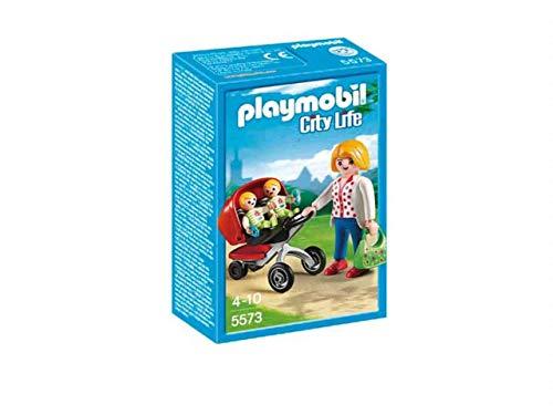 PLAYMOBIL 5573 Mother with Twin Stroller Kleidung FÜR Puppen, Bunt