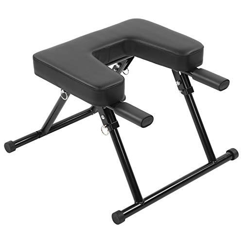 Yoga huvudstativ stol, yoga huvudstativ pall inversion bänk fitness för hem fitness huvudstativ...