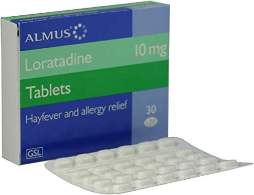 240 - 10mg Loratadine One a Day hay fever and Allergy Relief Tablets GSL - 8 months supply