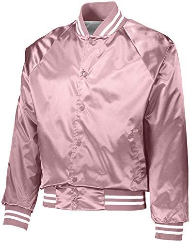 Mens Pink Bomber Jacket