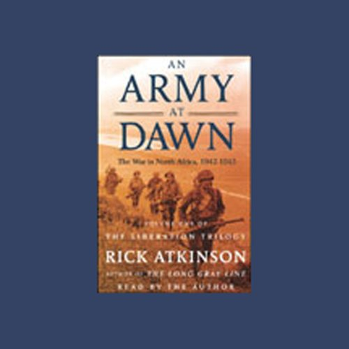 An Army at Dawn audiobook cover art