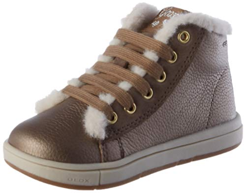 Geox Baby Mädchen B TROTTOLA Girl A Sneaker, (Smoke Grey), 23 EU