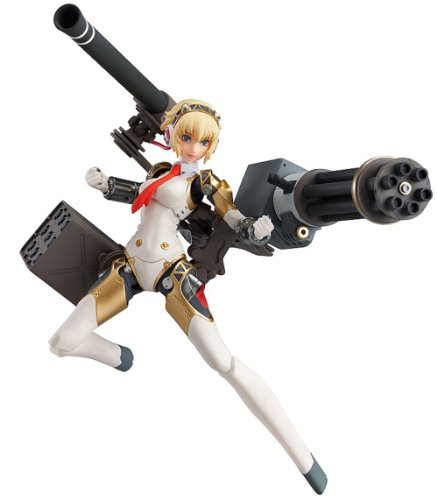 Persona 4 Ultimate in Mayonaka Arena: Aigis figma Action Figurine