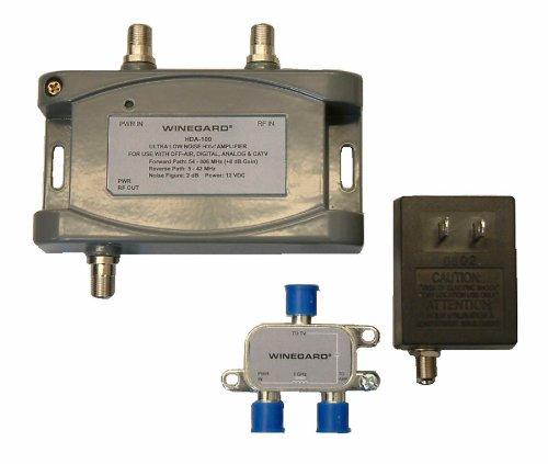 Winegard HDA-100 Distribution Amplifier 5-1000 Mhz 15dB, One Size