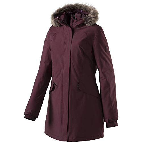 McKINLEY Damen Amberly Parka, Red Wine, 46