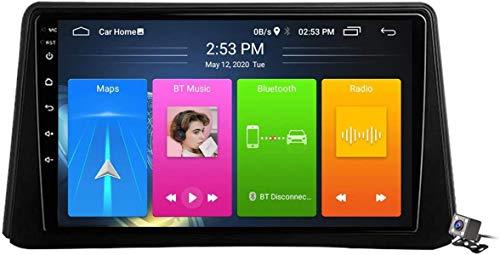 LYHY Android 10 Radio de navegación GPS para automóvil para Opel Mokka 1 2012-2016 con Pantalla táctil de 9 Pulgadas Soporte FM Am RDS DSP/MP5 Player/BT Control del Volante/Carplay