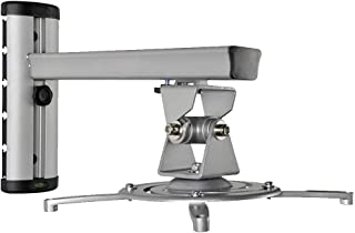 FGDSA Soporte para proyector Montaje en Techo o Pared para proyección Distancia y ángulo Ajustables Puede soportar el Peso...