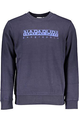 NAPAPIJRI Napapjiri Bebel C Maglione, Blu Marine, XL Uomo