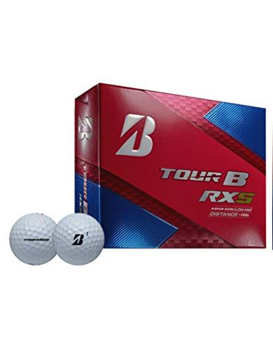 Bridgestone Tour B RXS Feel and Distance Golf Balls Low Average Score (2 Dozen)