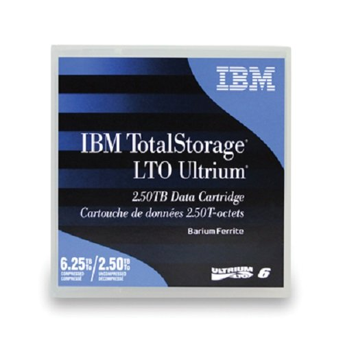 IBM LTO Ultrium 6 Native/Compressed 2.5TB / 6.25TB 1er-Pack Sonderartikel (BaFe) (B)