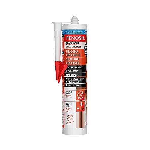 Penosil Silicona pintable - 300 ml. - Blanco