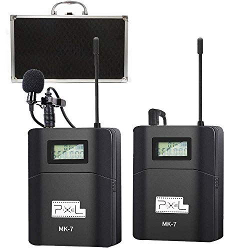 Pixel 6 Channels UHF Wireless Lavalier Microphone