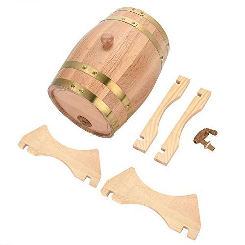Barriles de madera nimoa - barriles de roble de madera de vino hechos a mano de 5 litros para cerveza whisky ron oporto