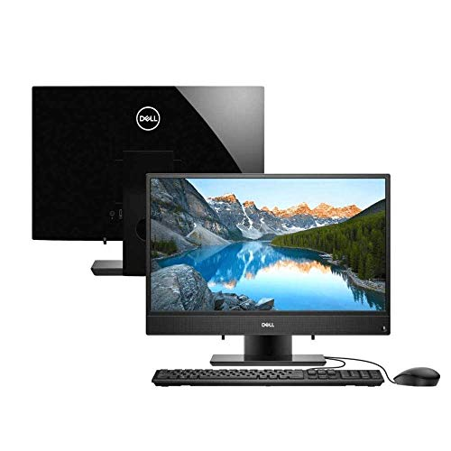 """Computador All in One Dell Inspiron 3280-AS10P 8ª Geração Intel Core i3 4GB 128GB SSD 21.5"""" Windows 10 Preto"""