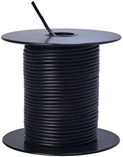 Southwire 55667323 Primary Wire, 18-Gauge Bulk Spool, 100-Feet, Black