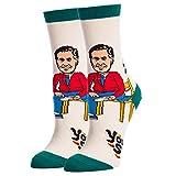 Women's Novelty Crew Socks for Mister Rogers, Oooh Yeah Funny Socks, Cool Socks,...
