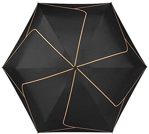 Fácil de plegar la celosía simple plegable solar negro sol sombra luz uv protección sol y lluvia...
