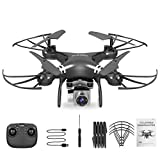 CloverGorge Four-Axis Aerial Drone Remote Control Aircraft High Definition Photography, Black, 4K Camera