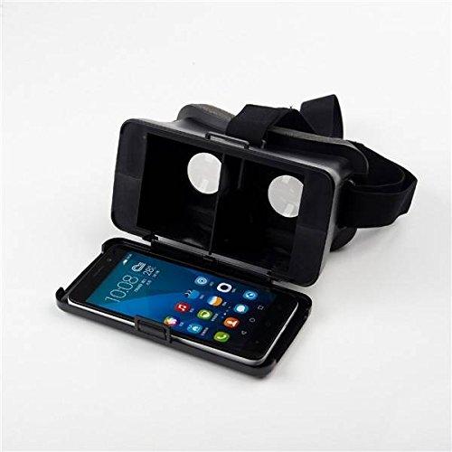 Calli NJ Head Mount Virtual Reality 3D Video Glass Cardboard For Cellphone
