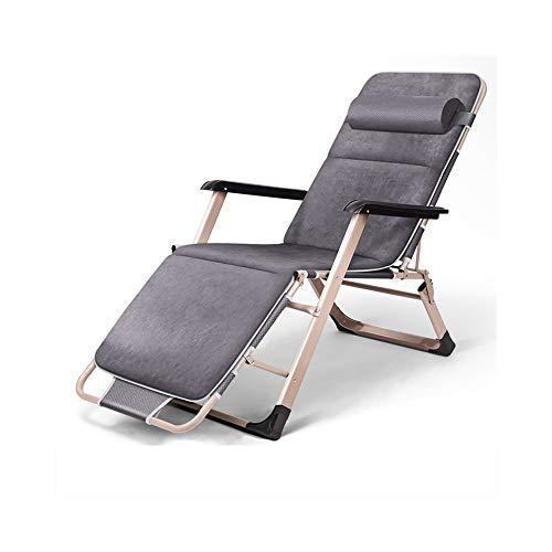 AJZXHESimple et créatif Chaises Longues, chaises de Bureau, chaises de Plage, chaises Pliantes, chaises Longues élégantes, (Taille : B)