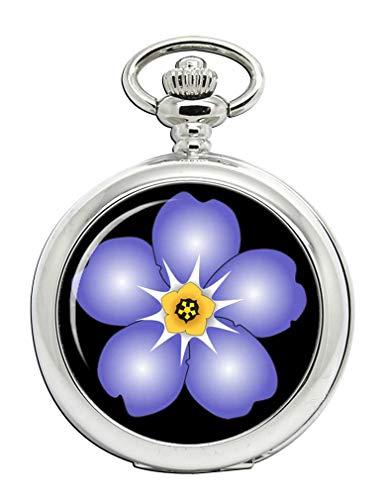 Masonic Forget me Not Full Hunter Reloj de bolsillo