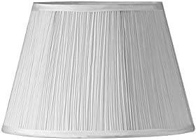 Oaks Lighting Grzyb plisowany odcień, biały