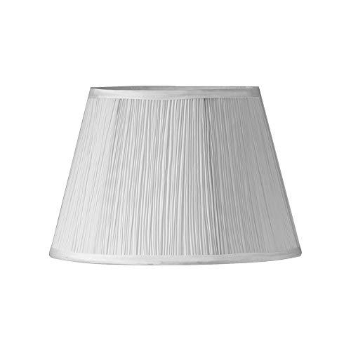 Oaks Lighting Setas plisadas, color blanco