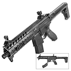 Sig Sauer MPX .177 Air Rifle, 30 Rounds, Black