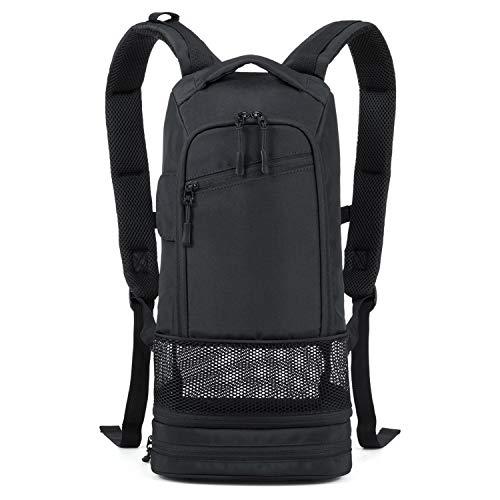 iGuerburn Rucksack für Philips SimplyGo Mini Sauerstoffkonzentrator-Tragetasche Mobile Sauerstoffgerät Reiserucksack Tasche (für große Akku)