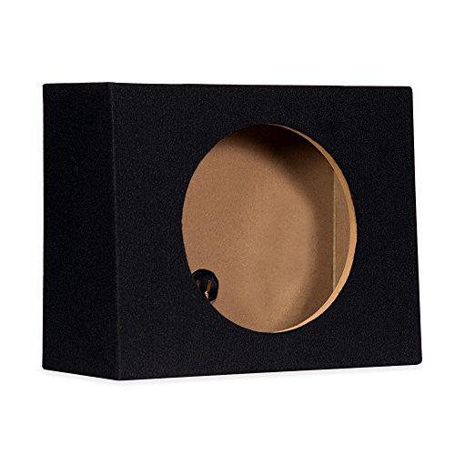 "12F Sealed 12"" Single Slim Car Box Speaker Enclosure Cabinet for Car Truck SUV"