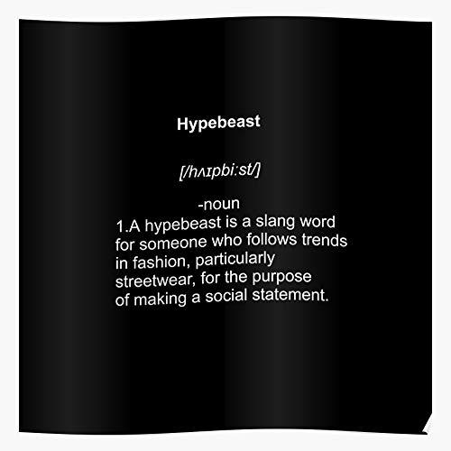 Sneaker Head Sneakerhead Runner Beast Hype Trainer Hypebeast Das eindrucksvollste und stilvollste Poster für Innendekoration, das derzeit erhältlich ist