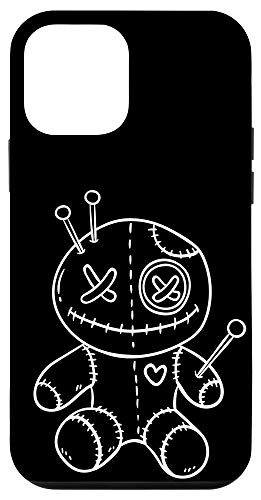 iPhone 12 mini Creepy White Voodoo Doll White Halloween Case