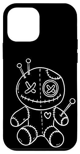 iPhone 12 mini Creepy White Voodoo Doll White Halloween Case