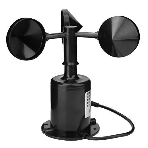 CHICIRIS Zouminyy Anemómetro del transmisor del sensor de viento, alta precisión Dirección del viento Sensor del transmisor Anemómetro 485 10~30V CC