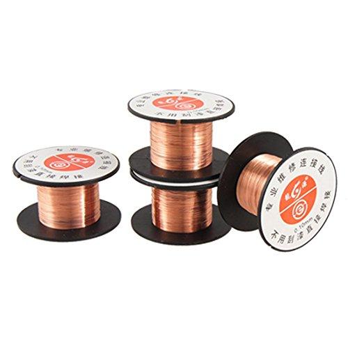 Lackdraht - SODIAL(R) Lackdraht zur Motherboard-Reparatur, 0,1 mm, 4 Stueck