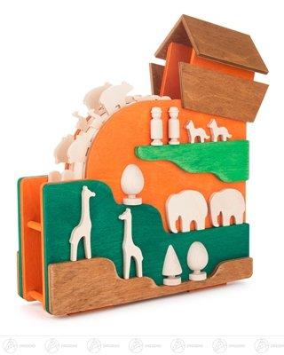 Musikdose Arche Noah – Spieluhr – Spieldose - Holzspielzeug – Handarbeit aus dem Erzgebirge – NEU