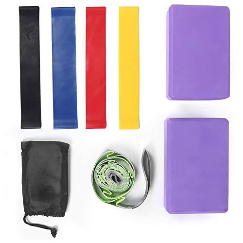 FOLOSAFENAR Dureza Cinturón Resistente al Estiramiento Bucle de Resistencia Ligero para Deportes