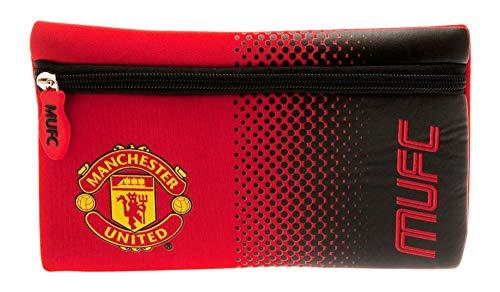 Manchester United F.C Fade Design Flat Pencil Case
