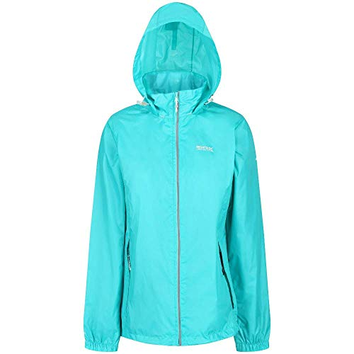 Regatta Damen Corinne IV Waterproof and Breathable Lightweight Mesh Lined Hooded Active Outdoor Jacke, Ceramic, 12
