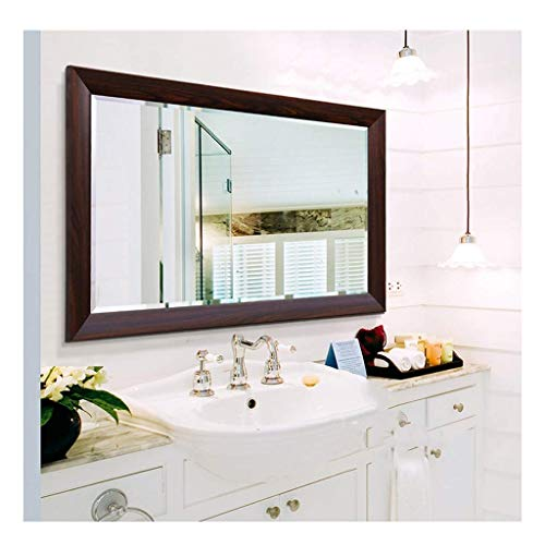 LUISONG FANMENGY Espejo de baño espejo espejo espejo tocador baño baño espejo espejo espejo de pared fregadero marco