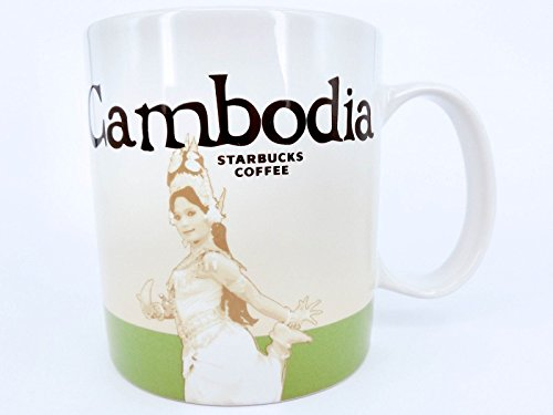Starbucks Kambodscha Global Icon Series-Becher 16 Unzen Grün