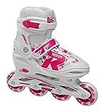 Roces Mädchen Jokey 2.0 Girl Inline-Skates, White-pink-Violet,...