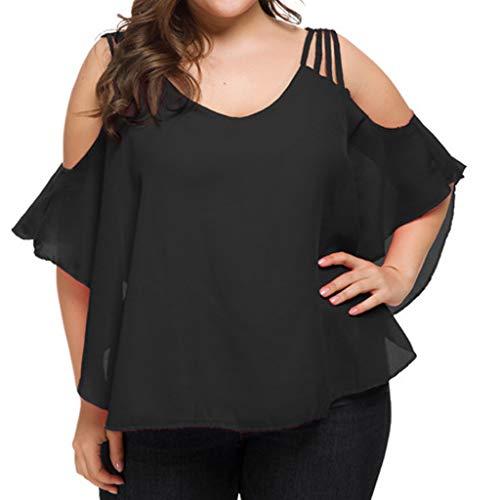 FAMILIZO Camisetas Mujer Verano Blusa Mujer Elegante Camisetas Mujer Manga Corta Algodón Camiseta Mujer Camisetas Mujer Fiesta Camisetas Sin Hombros Mujer Camisetas Tallas Grandes